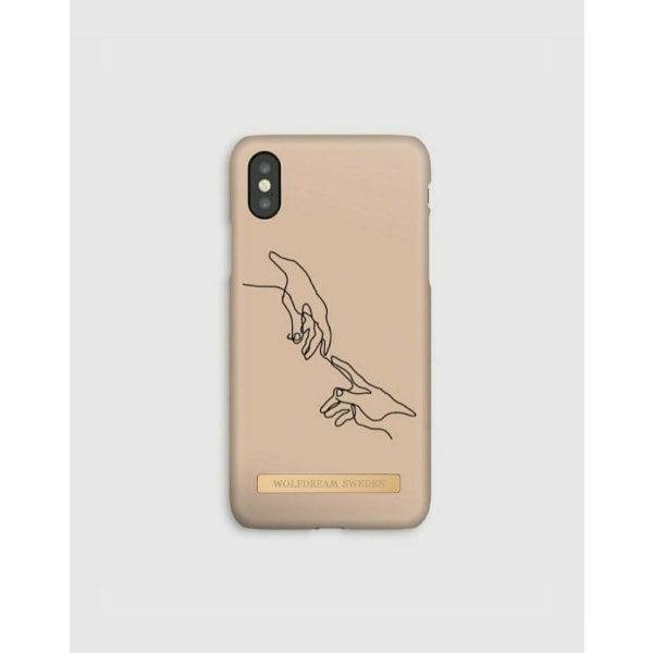 DIFFERENCE OF TOUCH - Magnetskal till Iphone XSMAX beige