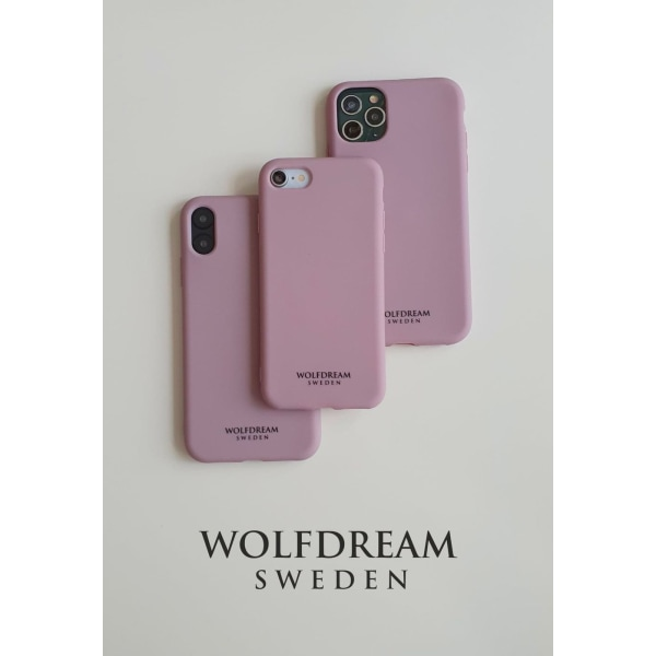 Dusty Lavendel -MOBILSKAL I TPU TILL IPHONE SE 2020 rosa