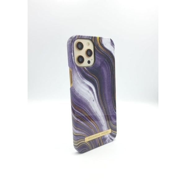 MOON ASH MARBLE - Magnetskal till Iphone 12MINI grå