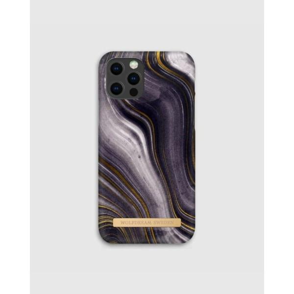MOON ASH MARBLE - Magnetskal till Iphone 11 grå