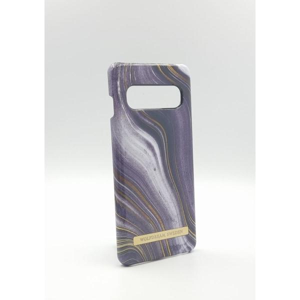 MOON ASH MARBLE - Magnetskal till Samsung S10PLUS grå