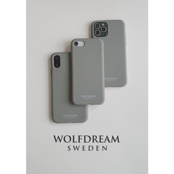 Oyster Grey-MOBILSKAL I TPU TILL IPHONE XR grå