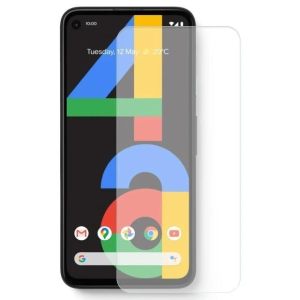 2-Pack Google Pixel 4a Härdat Glas Skärmskydd 0,3mm Transparent