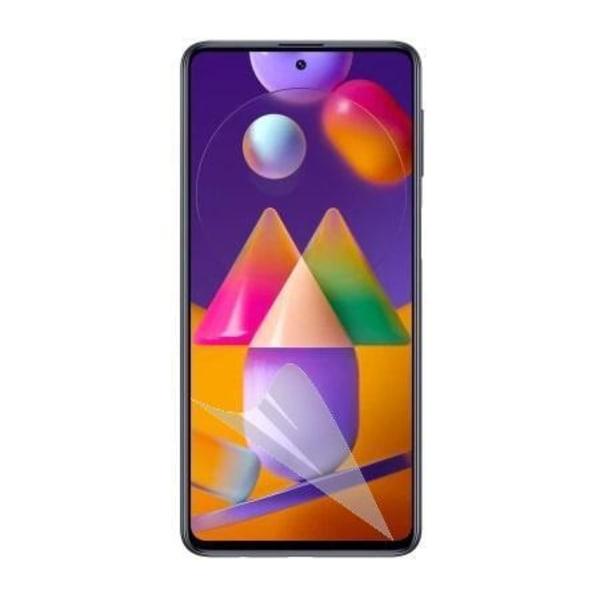 3-Pack Samsung Galaxy M31s Skärmskydd - Ultra Thin Transparent