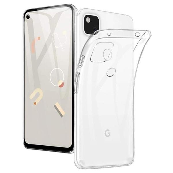Google Pixel 4a Transparent Mjuk TPU Skal Transparent
