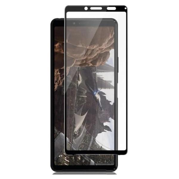 Sony Xperia 10 II Heltäckande 3D Härdat Glas Skärmskydd 0,2mm Transparent