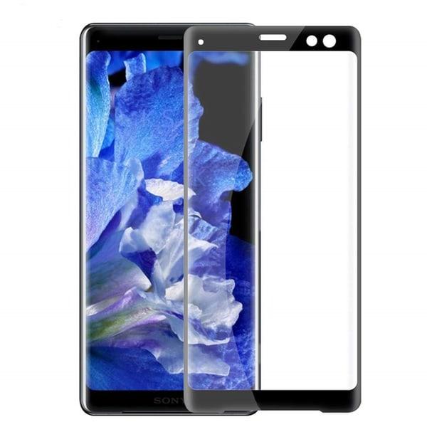 Sony Xperia XZ3 Heltäckande 3D Härdat Glas Skärmskydd 0,2mm Transparent