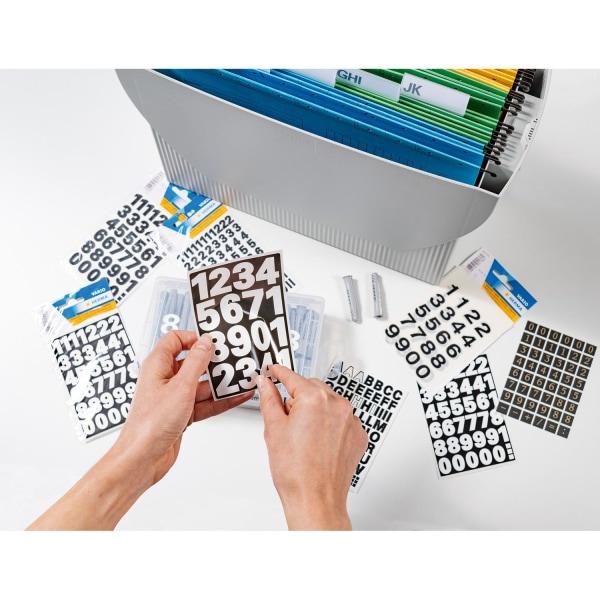 Brand label Herma Vario 4170 Numbers 0-9 25mm, White, 1 sheet / pack White