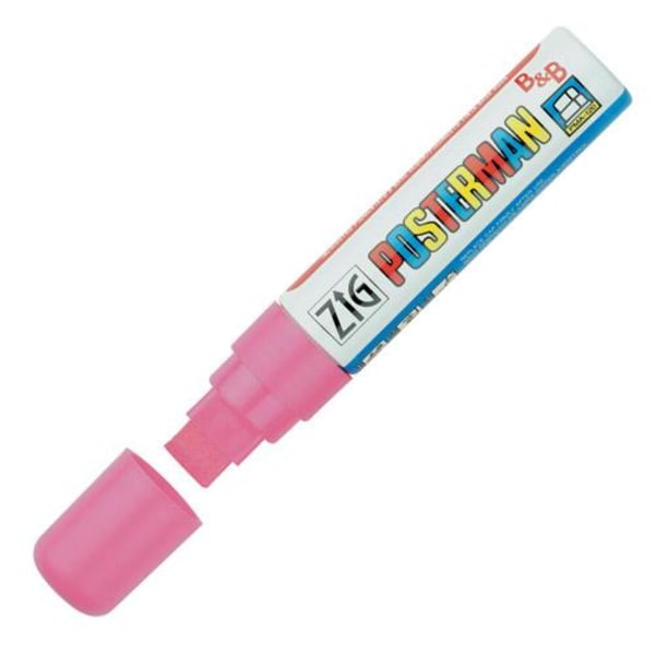 Märkpenna Zig Posterman marker B&B PMA-120 15mm Rosa 1/fp Pink