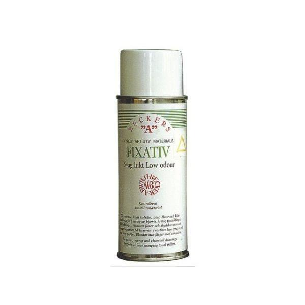 Fixativ/Fixativspray Beckers A sprayflaska Svag lukt, 400ml Transparent