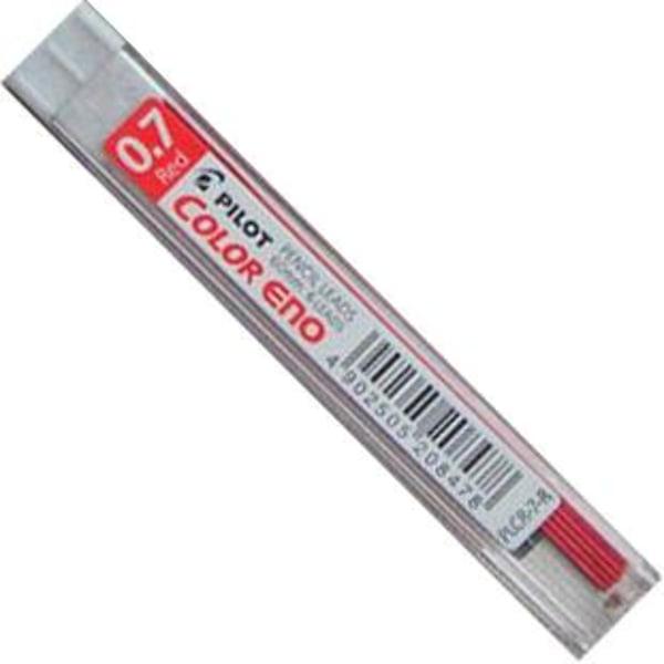 Färgstift Pilot Color ENO 0,7mm Röd 6 stift/etui Red