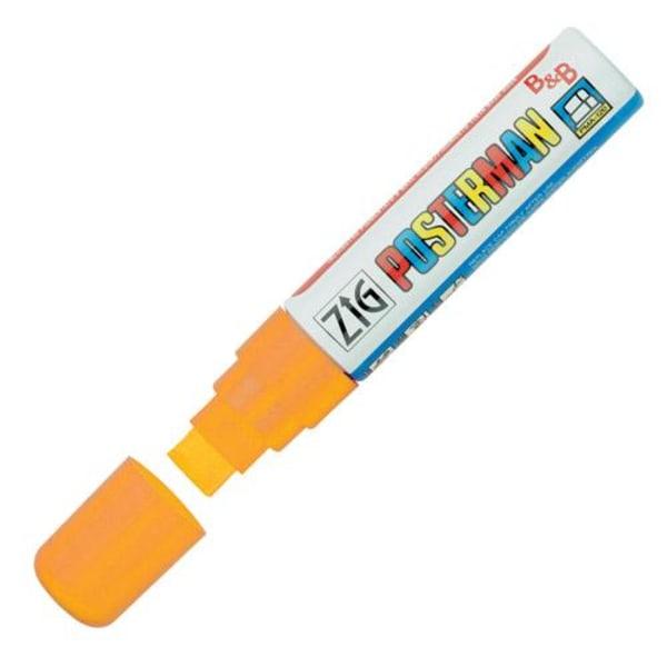 Märkpenna Zig Posterman marker B&B PMA-120 15mm Orange 1/fp Orange