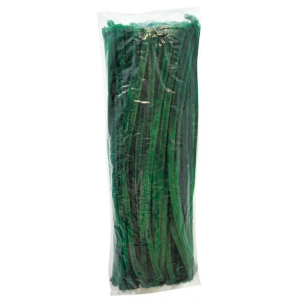Putkenpuhdistusaine 30 cm kiiltävä vihreä 100 / fp Green