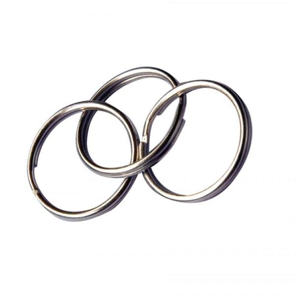Nøgleringe diameter 25mm 30 / fp Silver