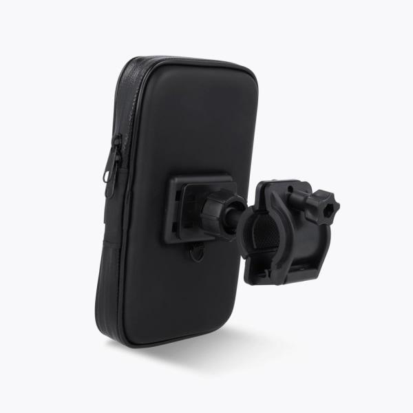 Maxlife Mobilhållare för cykel / Cykelhållare för mobil Svart
