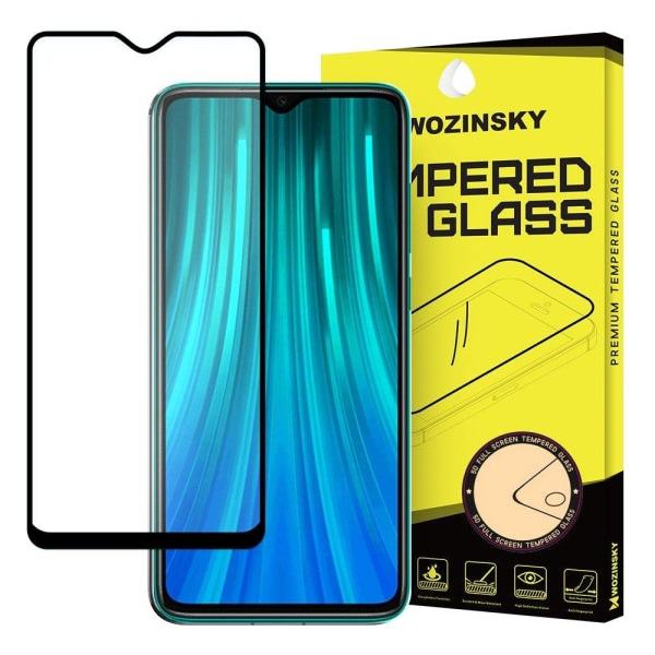 Full Cover Xiaomi Redmi 8 Hærdet glas skærmbeskyttelse - Sort Transparent