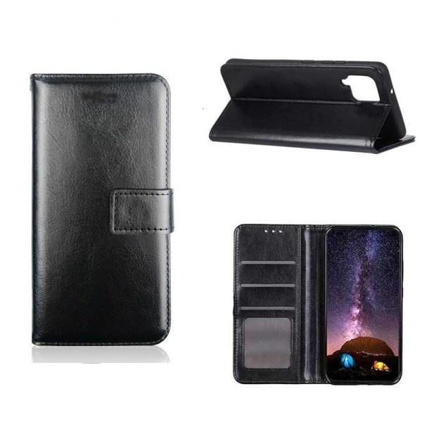 Plånboksfodral Samsung A72, 2 kort + ID Svart