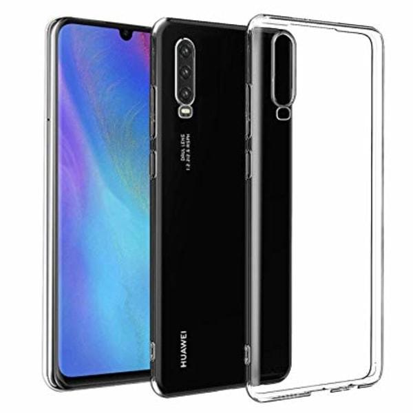 Kuori läpinäkyvää kumia, Huawei P30 Lite Transparent