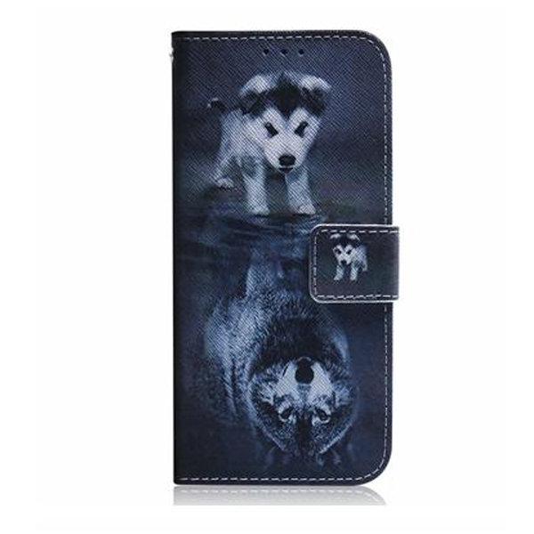 Plånboksfodral, Samsung S10+, Valp grå