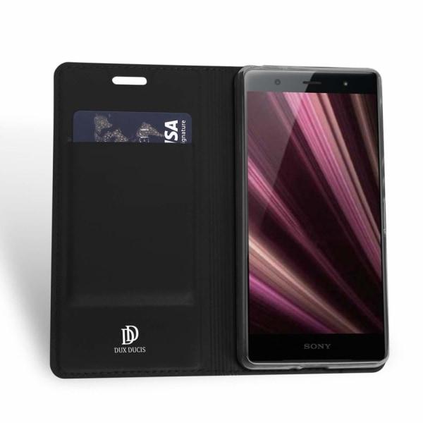 iPhone X /Xs - Retro Wallet cover, Taske/Pung - Sort Black