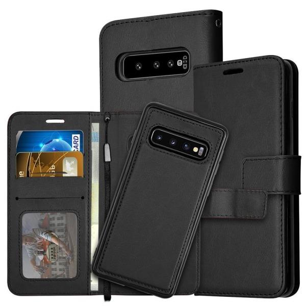 Samsung S21 Ultra 5G Plånboksfodral / Magnetskal  Svart
