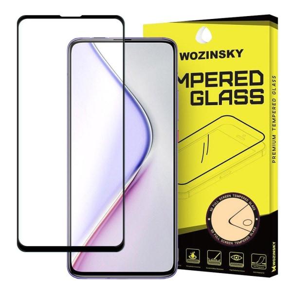 Full Cover Xiaomi Poco F2 Pro Hærdet glas skærmbeskyttelse - Sor Transparent