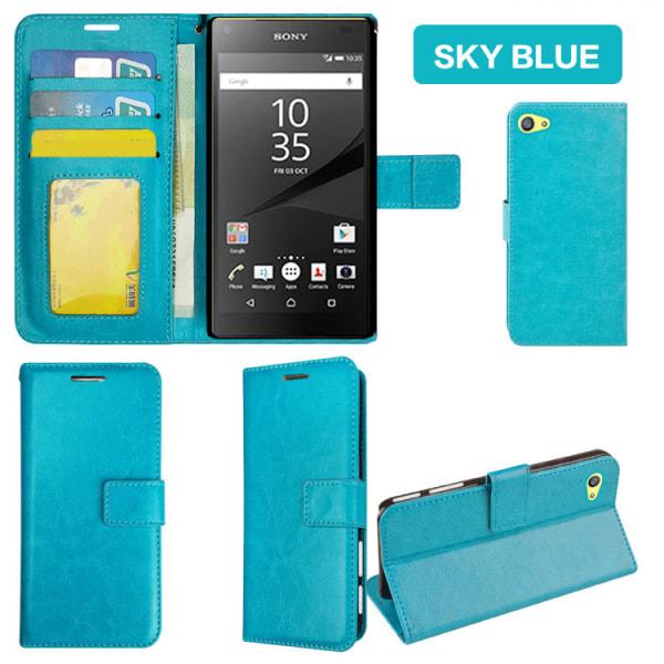 Plånboksfodral Sony Xperia Z5 Compact, 2 kort + ID