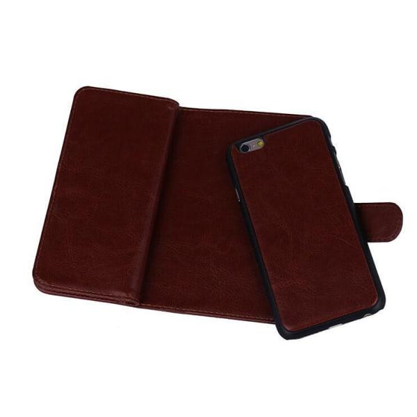 Multi flip wallet till Galaxy S6 Vit
