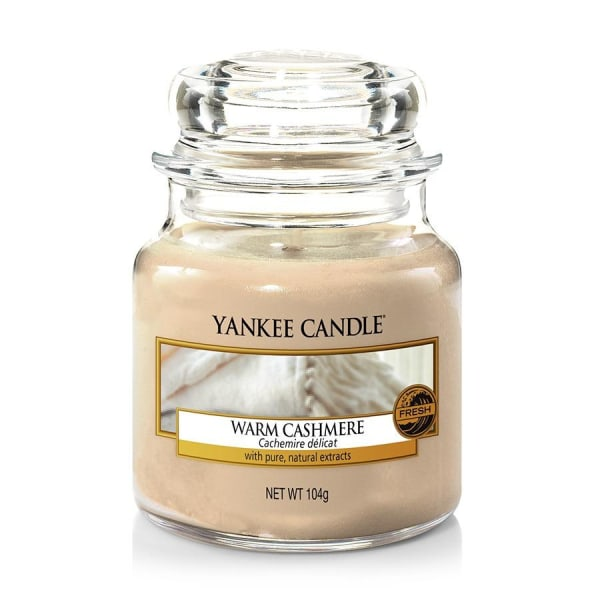 Yankee Candle Classic Small Warm Cashmere Transparent