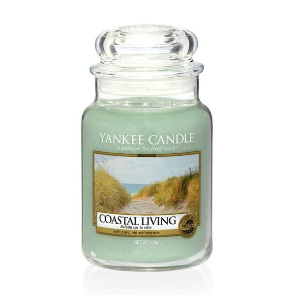 Yankee Candle Classic Large Jar Coastal Living Candle 623g Transparent