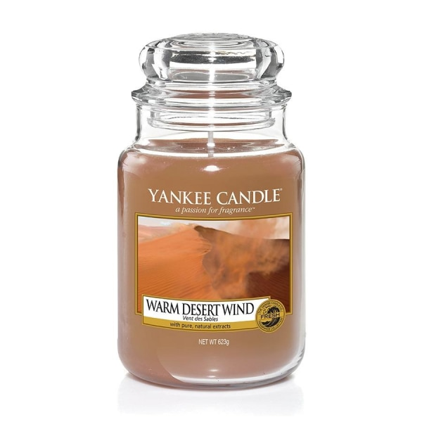 Yankee Candle Classic Large Warm Desert Wind Transparent