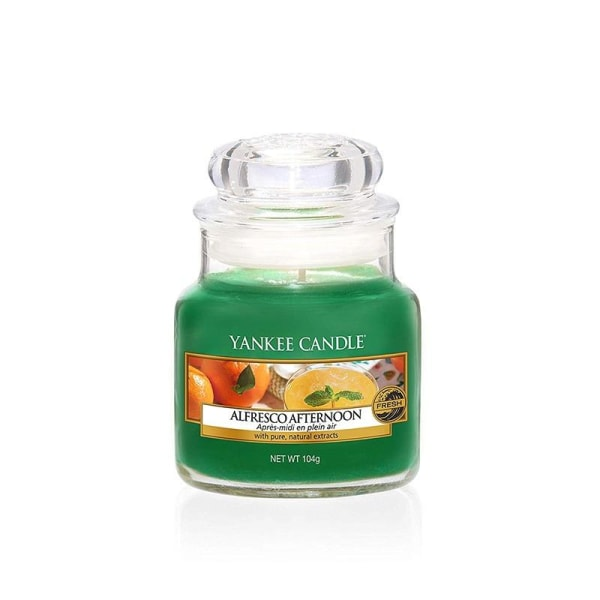 Yankee Candle Classic Small Alfresco Afternoon Transparent