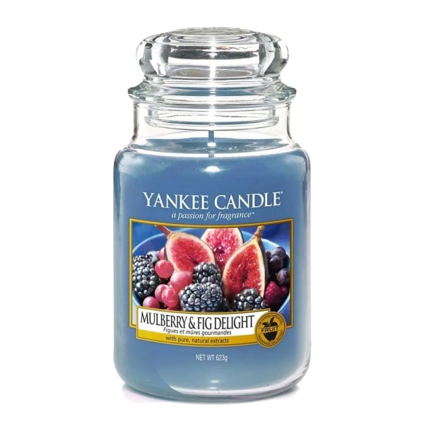 Yankee Candle Classic Large Mulberry & Fig Delight Transparent