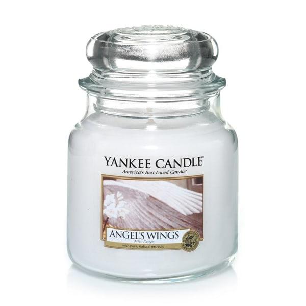 Yankee Candle Classic Medium Angel's Wings Transparent