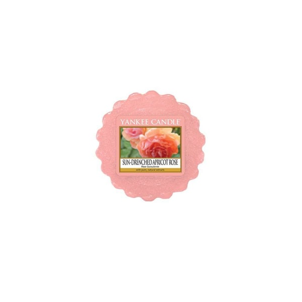 Yankee Candle Wax Melts Sun Drenched Apricot Rose Transparent