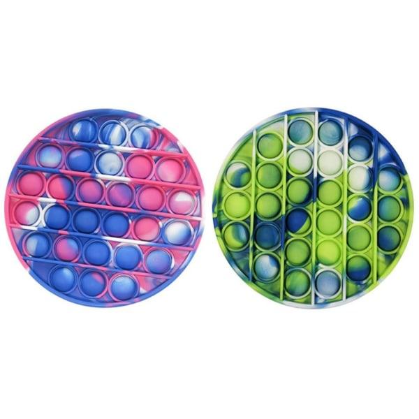 2-pack Pop It Fidget Toy Original - Flerfärgade  - NYHET multifärg one size