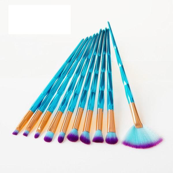 Colorful Diamond Pro Set with 10 pcs. exclusive makeup / makeup
