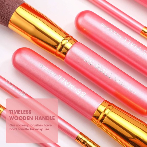 BS05 - BS-MALL 14 st. eksklusive Makeup / makeup børster af beds