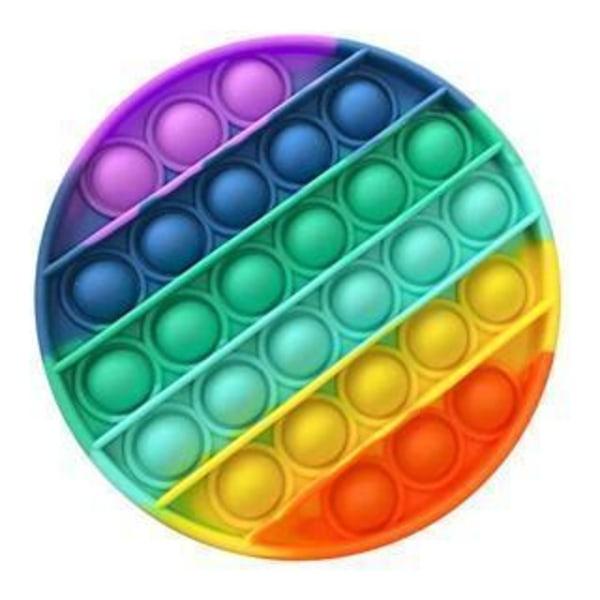 20 st. Fidget-lelusetti lapsille ja aikuisille Multicolor one size
