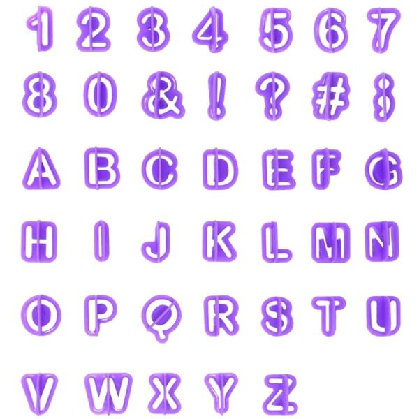 Bokstäver och siffror