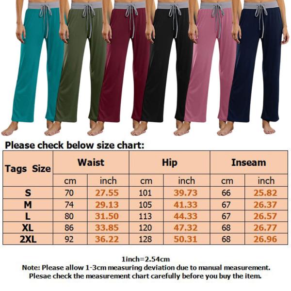 Women Dance Yoga Pants Sports Leg Pants Trousers Straight Leg Army Green,M