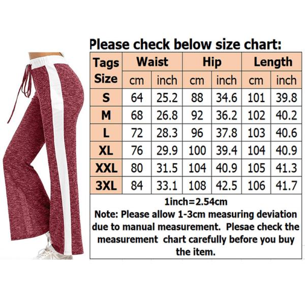Women's Casual Elastic Wide Leg Pants Yoga Sports Jogging Pants Gray,XL