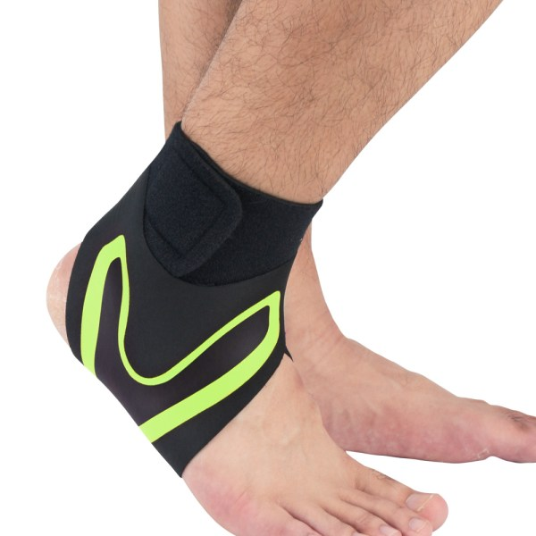 Ankle Brace Support Compression Sleeve Plantar Right,M