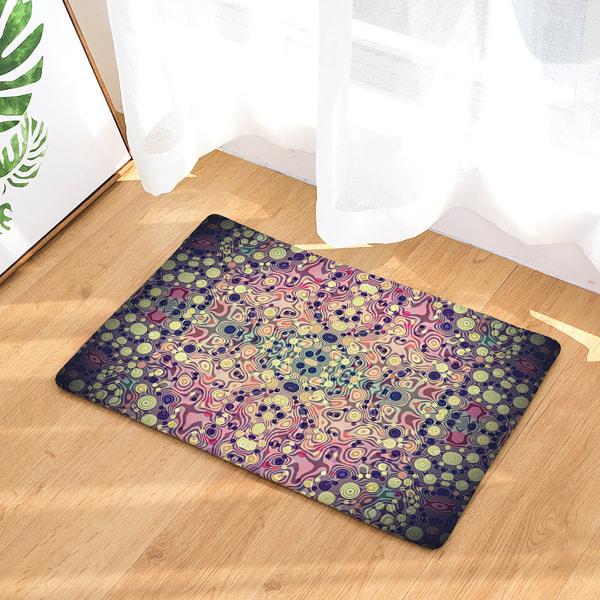 Colorful Non-Slip Floor Mats Washable Rug Door Mat Hallway #07 50x80cm