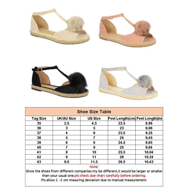 Ladies espadrille sandals summer fish mouth shoes platform shoes Pink,40