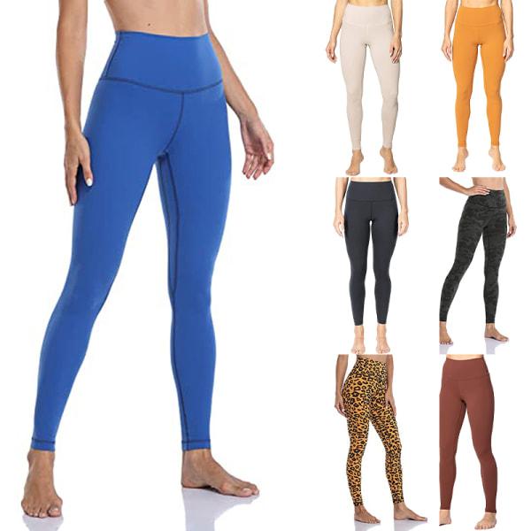 Ladies high waist stretch yoga pants fitness sweatpants Black,XXL