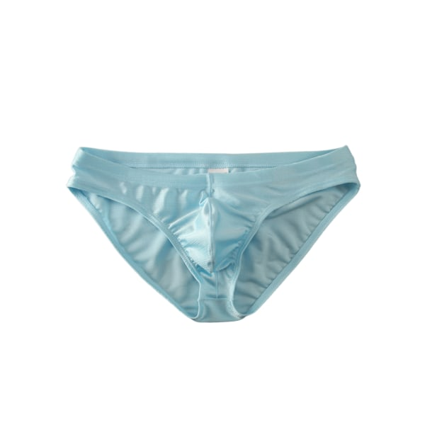 Men's lightweight breathable brushed briefs Blue,M