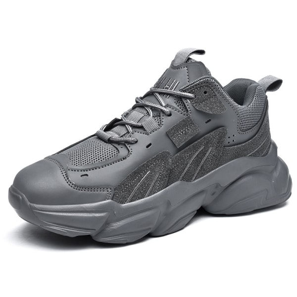 Men's outdoor running shoes breathable comfortable shoes Gray,42
