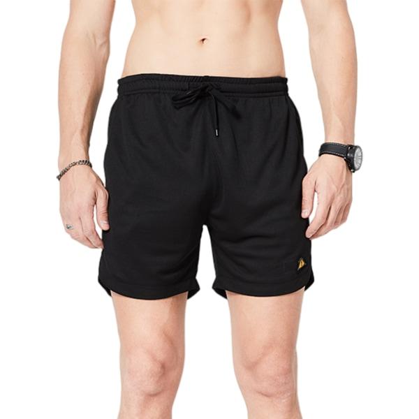 Men's Quick-Drying Casual Shorts Loose Sweatpants Black,XL