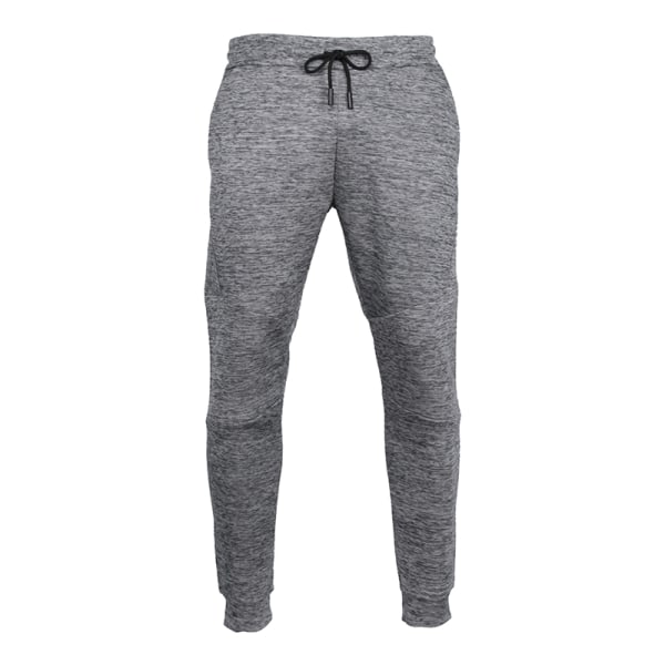 Men versatile casual quick drying sports pants comfortable Gray,XL